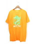 MAYBE TODAY NYC(メイビー トゥデイ)の古着「Green Dragon Tee」|オレンジ