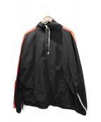 MNML(ミニマル)の古着「ハーフジップトラックジャケット」|ブラック