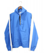 MNML(ミニマル)の古着「ハーフジップトラックジャケット」|ブルー