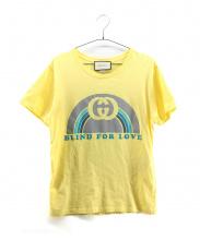GUCCI(グッチ)の古着「Tシャツ」|イエロー