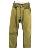 Acne(アクネ)の古着「切替パンツ」 ブラウン