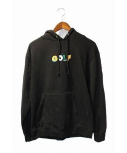GOLF WANG(ゴルフワング)の古着「フロントロゴパーカー」|ブラック