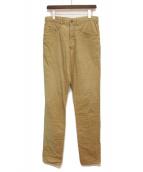 Yohji Yamamoto pour homme(ヨウジヤマモトプールオム)の古着「パンツ」|ベージュ