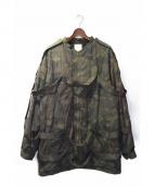 Seven(セブン)の古着「ボンテージジャケット」|ブラウン