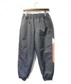 FLAGSTUFF(フラッグスタッフ)の古着「18AW TRACK PANTS」|グレー×オレンジ