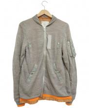 sacai(サカイ)の古着「ニットMA-1ジャケット」