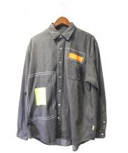 BEAMS SSZ(ビームスエス エス ズィー)の古着「デニムシャツ」|グレー
