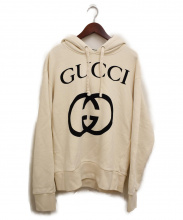 GUCCI(グッチ)の古着「GGロゴプルオーバーパーカー」|アイボリー