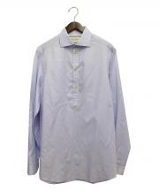 GUCCI(グッチ)の古着「プルオーバーシャツ」|スカイブルー