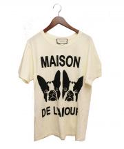 GUCCI(グッチ)の古着「Bosco & Orso Maison de lAmour」|アイボリー