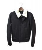 DIOR HOMME(ディオールオム)の古着「ムートンボアカラージャケット」|グレー