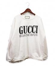 GUCCI(グッチ)の古着「シティコットンスウェット」|ホワイト