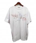 Dior Homme(ディオールオム)の古着「顧客限定Tシャツ」|ホワイト