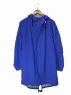 UNUSED(アンユーズド)の古着「ナイロンモッズコート」|ブルー