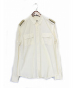 BALMAIN(バルマン)の古着「エポレットシャツ」