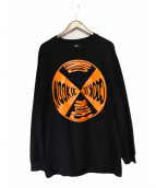 HOOD BY AIR(フッドバイエアー)の古着「NO NOOKIE COOKIE GRAPHIC TEE」|ブラック
