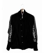 blackmeans(ブラックミーンズ)の古着「般若心経ベロアジャケット」