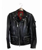 blackmeans(ブラックミーンズ)の古着「レザーライダースジャケット」