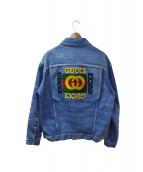 GUCCI(グッチ)の古着「パッチオーバーサイズデニムジャケット」
