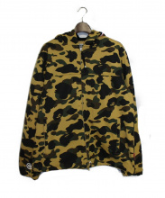 A BATHING APE(ア ベイシング エイプ)の古着「1ST CAMO WINDSTOPPER SHARK HOO」