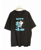 RARE PANTHER(レアパンサー)の古着「Tシャツ」