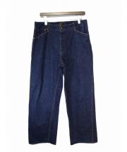 TENDERLOIN(テンダーロイン)の古着「シンチバッグデニムパンツ」
