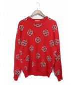 SUPREME × Independent(シュプリーム x インデペンデント)の古着「15AW Crosses Sweater」|レッド