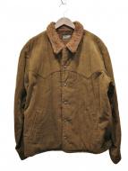 TENDERLOIN(テンダーロイン)の古着「ボアジャケット」|ブラウン