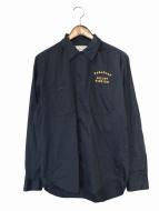 WACKO MARIA(ワコマリア)の古着「長袖シャツ」 ネイビー