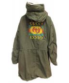 GUCCI(グッチ)の古着「18AW/バックプリントモッズコート」