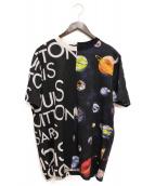 LOUIS VUITTON(ルイ・ヴィトン)の古着「ハーフ&ハーフギャラクシーTシャツ」