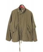 RE-PURPOSE(リパーパス)の古着「ミリタリージャケット」|カーキ