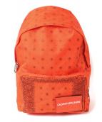 Calvin Klein(カルバン・クライン)の古着「リュック」|オレンジ