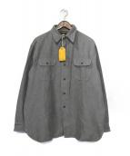 AT LAST(アットラスト)の古着「ヘビーフランネルシャツ」