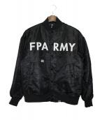 FPAR(フォーティーパーセントアゲインストライツ)の古着「MA-1ジャケット」 ブラック