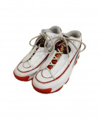 Reebok(リーボック)の古着「スニーカー」|ホワイト×レッド