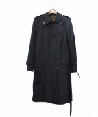 SOPHNET.(ソフネット)の古着「トレンチコート」|ブラック