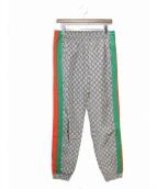 GUCCI(グッチ)の古着「19SS GG ナイロンジョギングパンツ」|ベージュ
