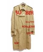 BURBERRY(バーバリー)の古着「19SS ホースフェリー トレンチコート」|ベージュ