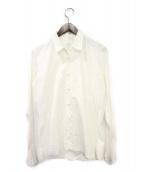 ()の古着「ラインストーンシャツ」|ホワイト