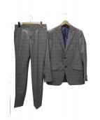 ETRO(エトロ)の古着「グレンチェックセットアップスーツ」