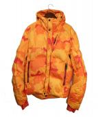 KRU(クルー)の古着「ダウンジャケット」|オレンジ
