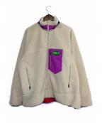 LABRAT(ラブラット)の古着「Boa jacket」 アイボリー