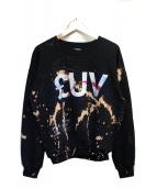 LUV(ラヴ)の古着「スウェット」|ブラック