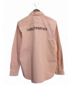 WACKO MARIA(ワコマリア)の古着「ワークシャツ」 ピンク