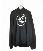 MASSES(マシス)の古着「プルオーバーパーカー」|ブラック