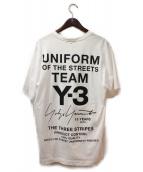 Y-3(ワイスリー)の古着「コレクション限定Tシャツ」|ホワイト