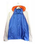 GUCCI(グッチ)の古着「ウインドブレーカー」|ブルー
