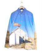 Calvin Klein Jeans(カルバンクラインジーンズ)の古着「転写プリントシャツ」