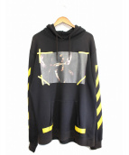 OFF WHITE(オフホワイト)の古着「16AW CARAVAGGIO HOODIE」